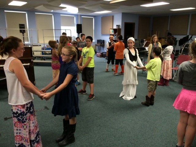Colonial Day Dance Lessons