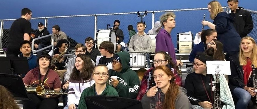 Unatego Pep Band at Homecoming Football Game!