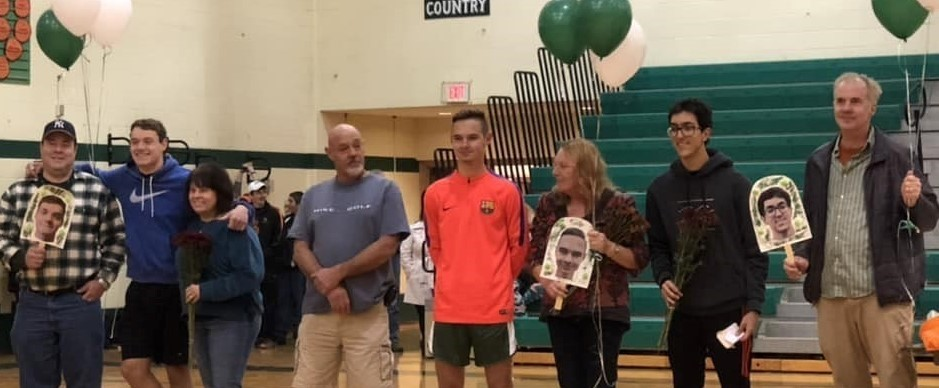 Cross Country seniors and their families