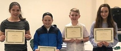 Middle Students of the month