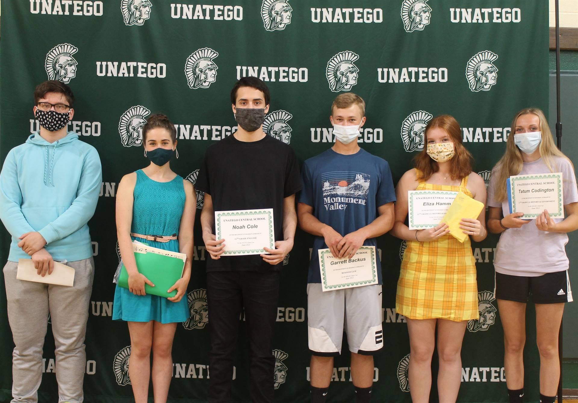 High School Academic Awards 2021