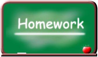 Homework Calendar - Click Me!