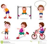 Different types of exercise for kids